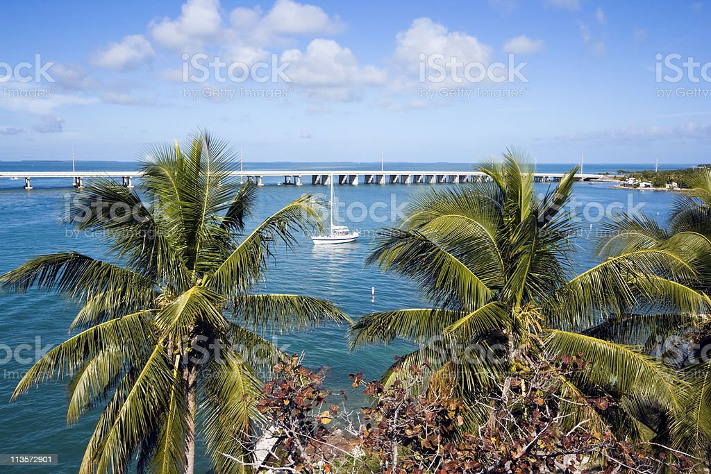 Vacations in Florida stock photo