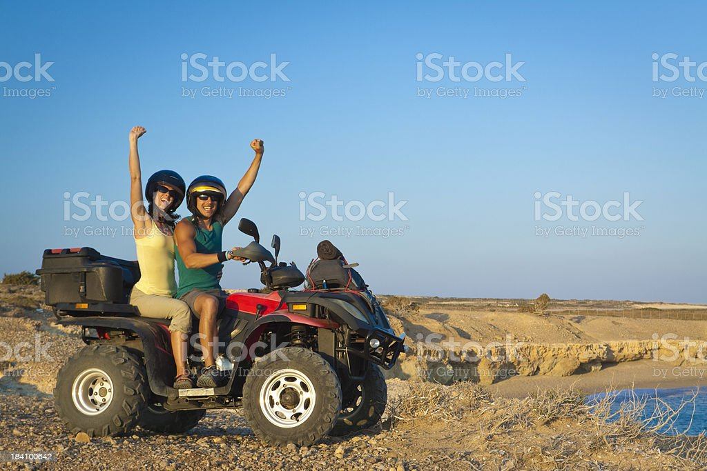 vacations on quad royalty-free stock photo