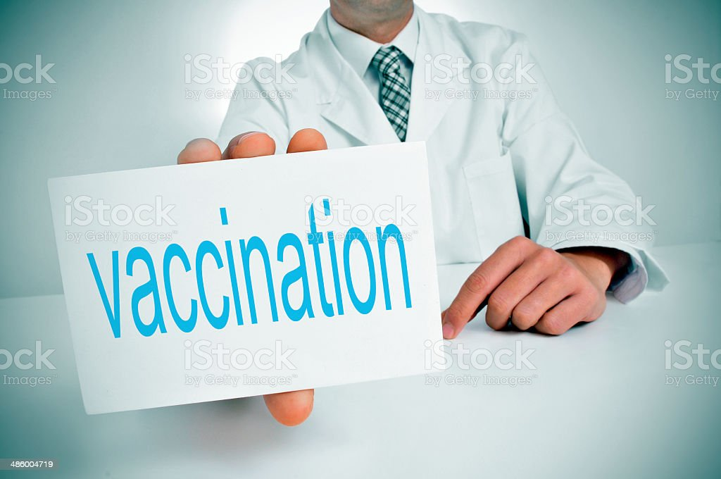 vaccination stock photo