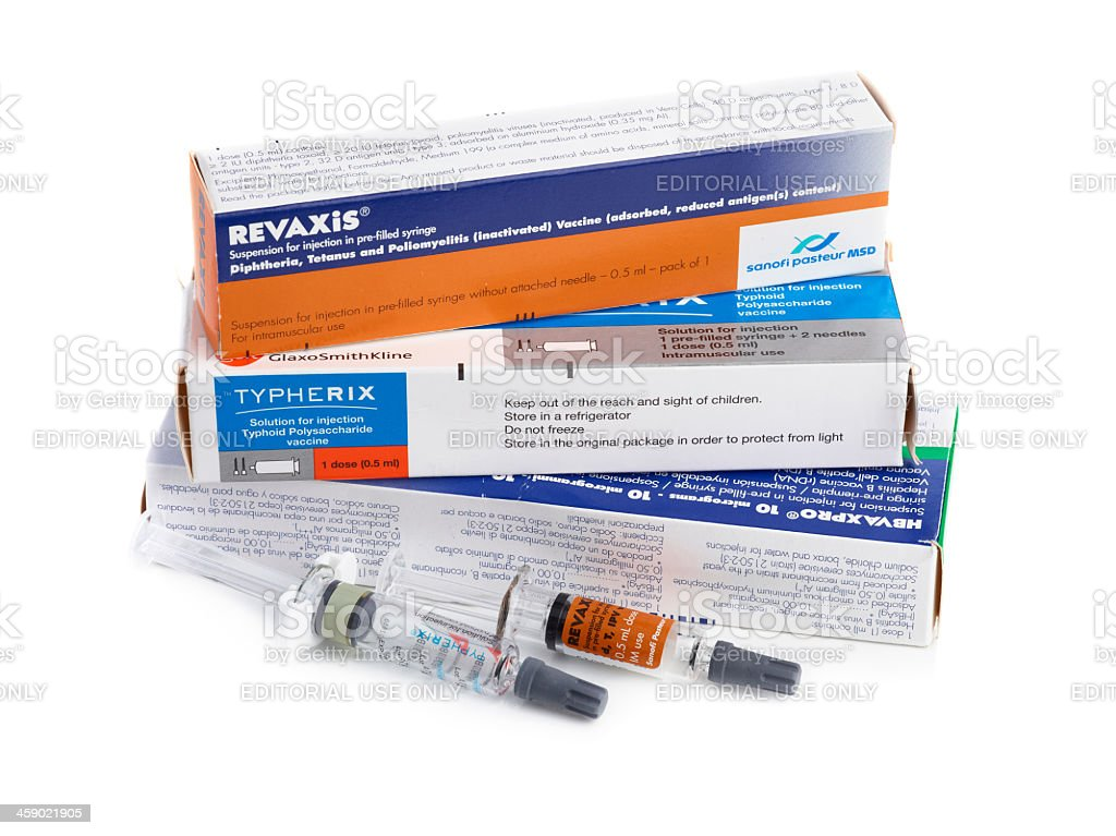 Vaccinations stock photo