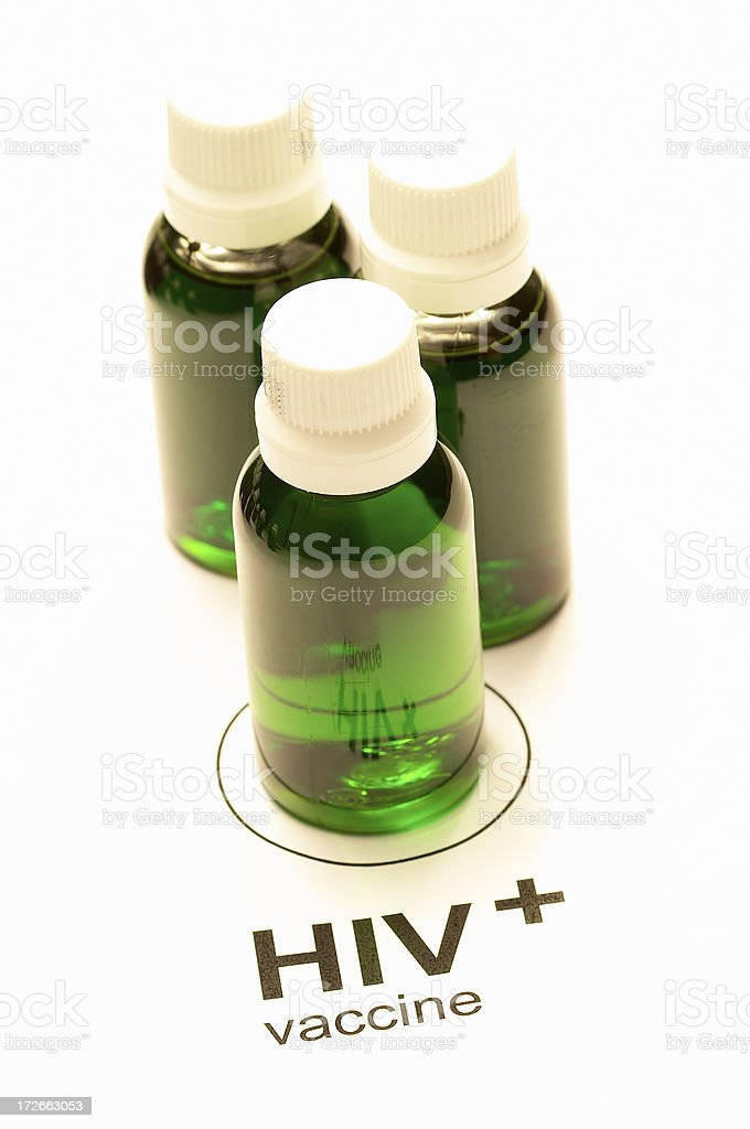 HIV Vaccine ( a hope) royalty-free stock photo