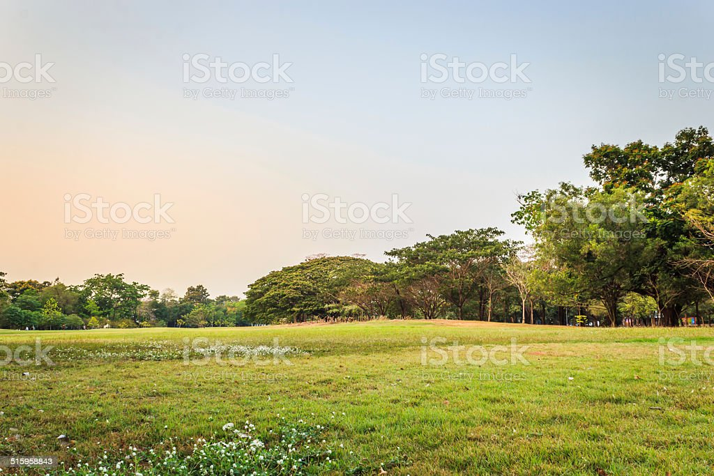 Vachirabenjatas Park (Rot Fai Park) stock photo