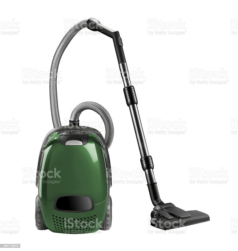 Vacuum cleaner isolated stock photo