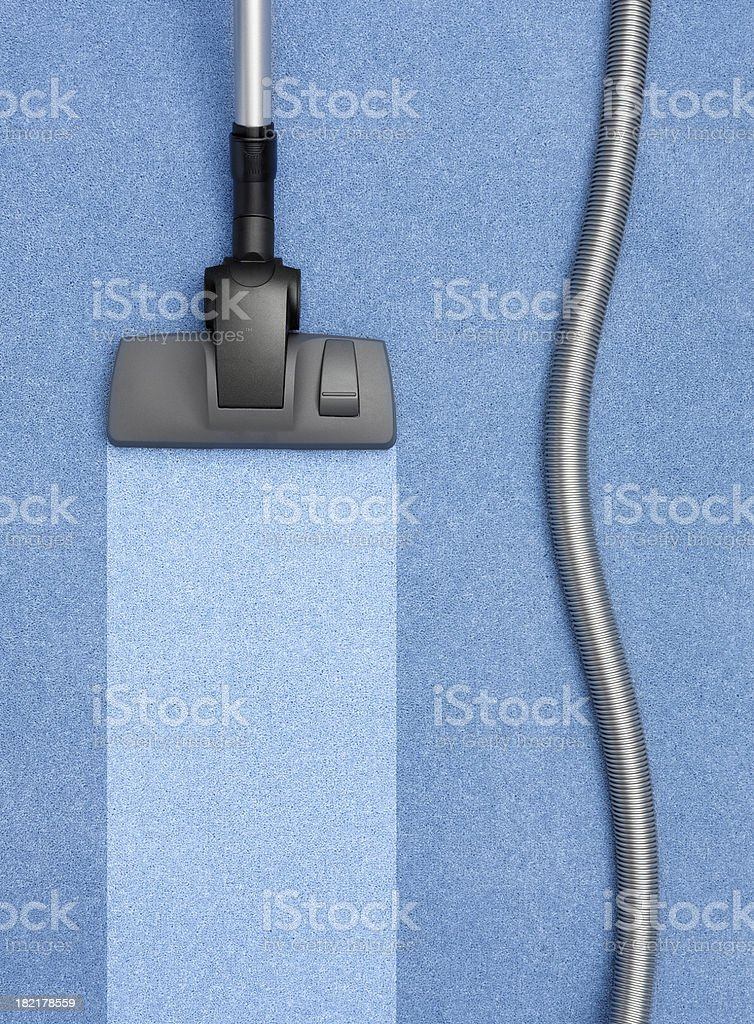 vacuum cleaner on carpet royalty-free stock photo