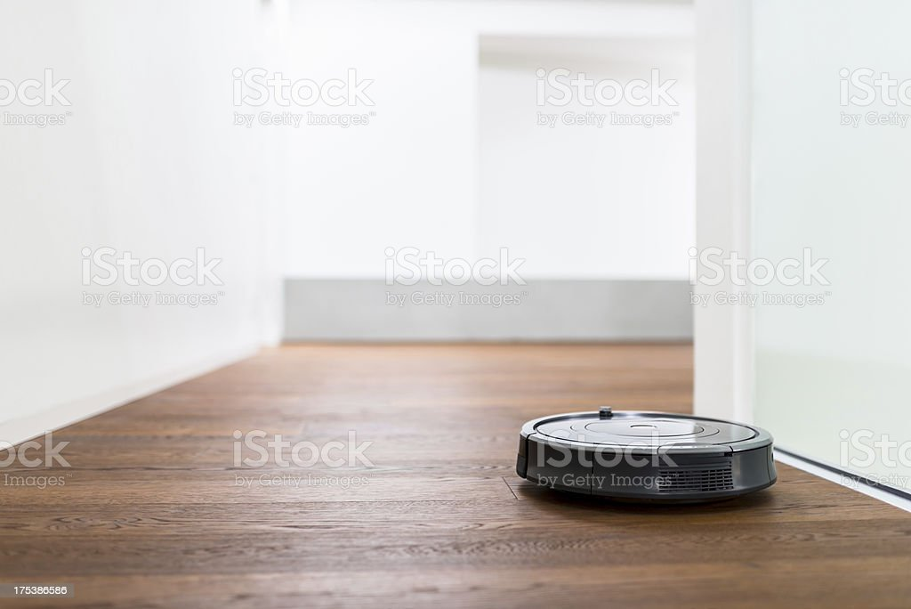 Vacuum Cleaner Robot stock photo
