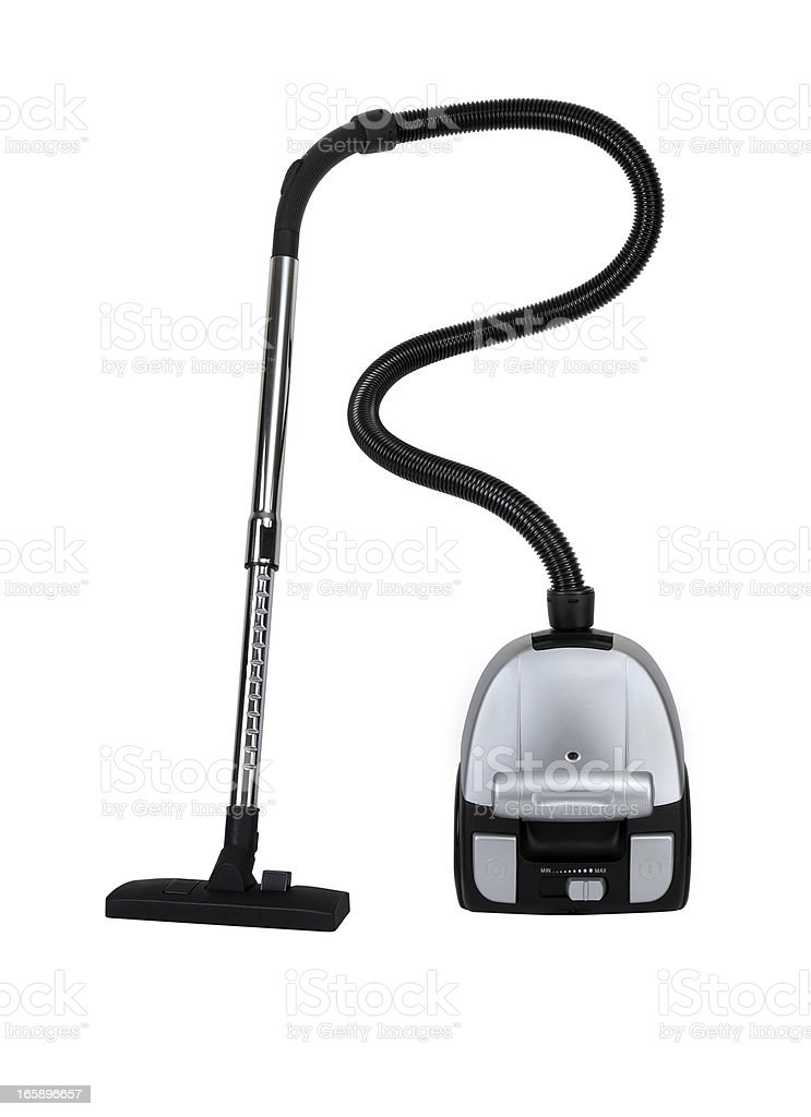 Vacuum Cleaner+Clipping Path stock photo