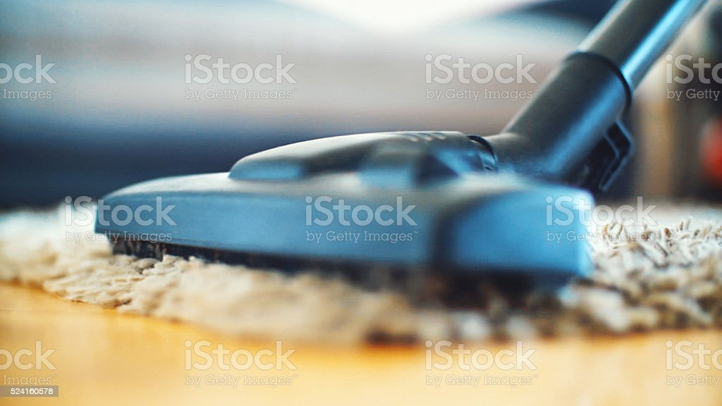 Vacuum cleaning. stock photo