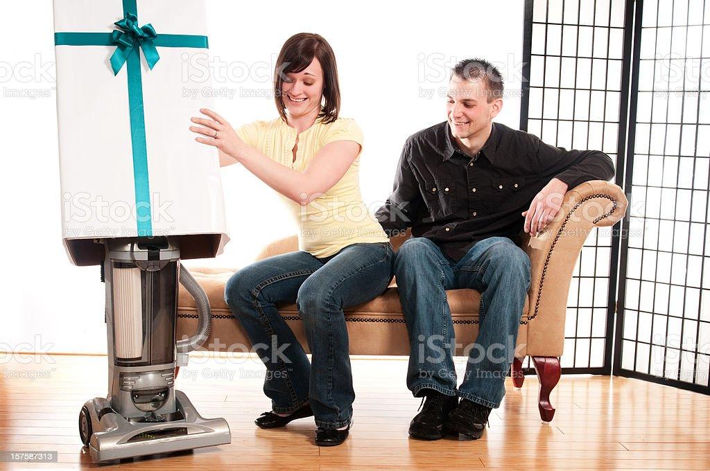 Vacuum Gift royalty-free stock photo