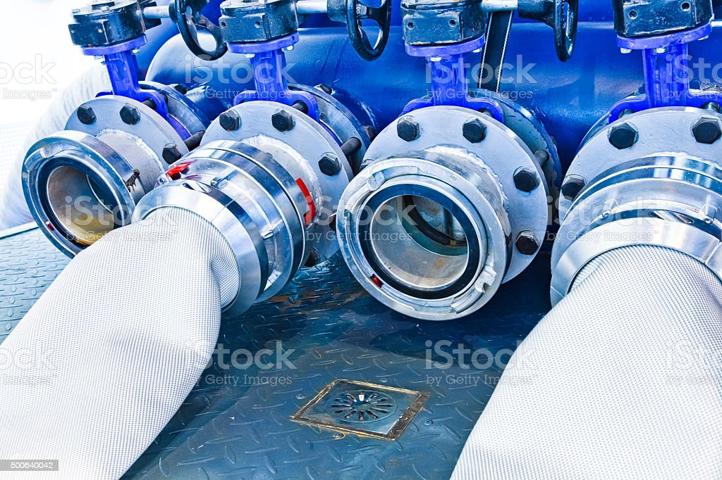 Vacuum prime assisted pump stock photo
