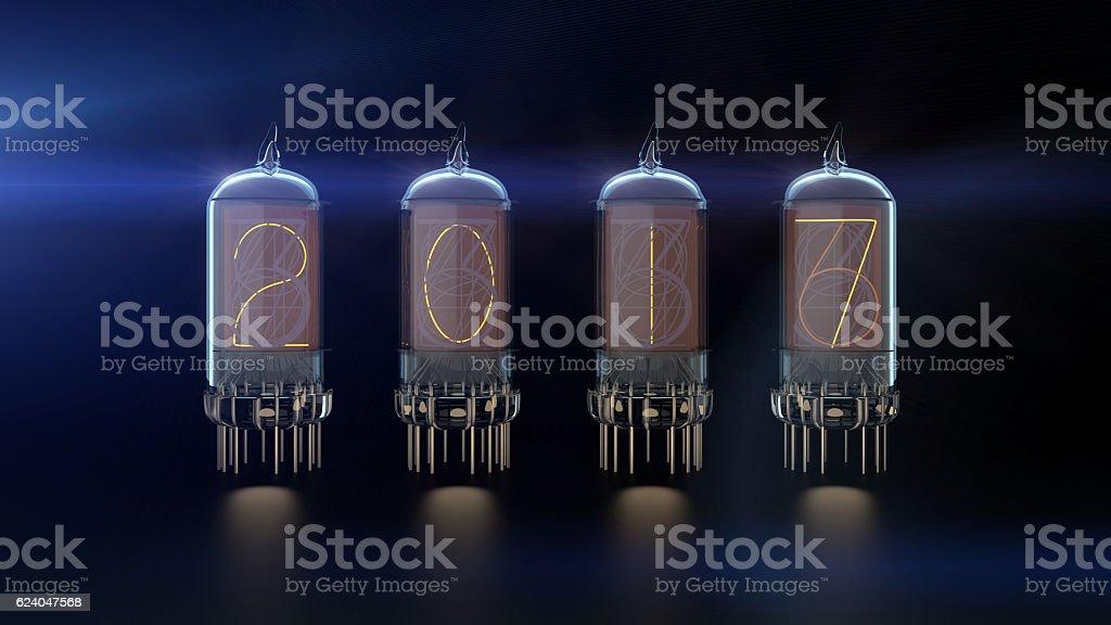 Vacuum tube 2017 stock photo