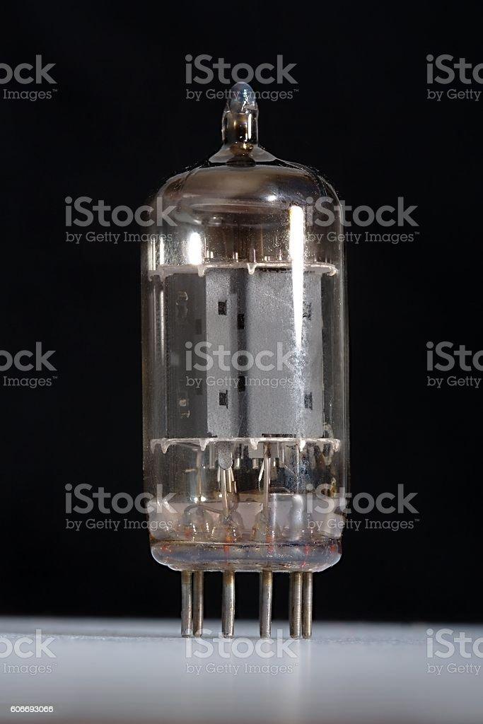 Vacuum Tube Closeup stock photo
