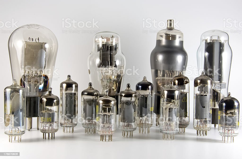 Vacuum Tube Collection royalty-free stock photo