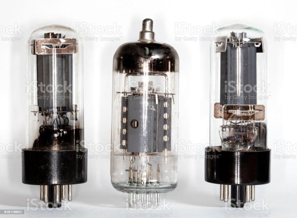 vacuum tube stock photo