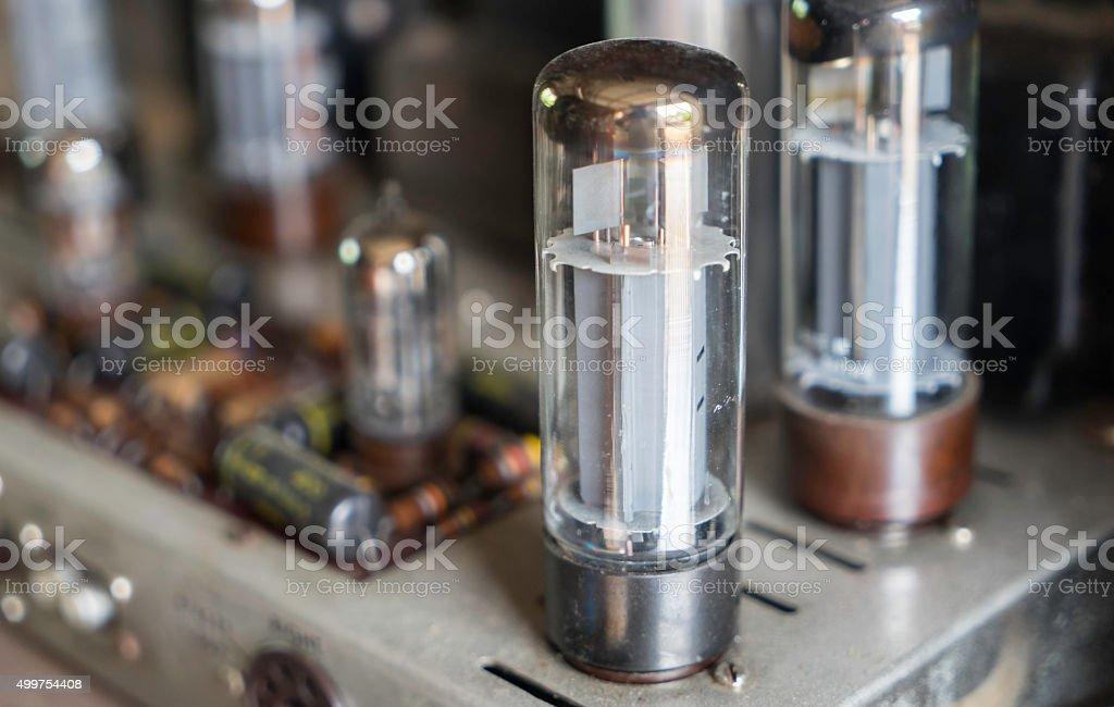 Vacuum Tube Valve stock photo