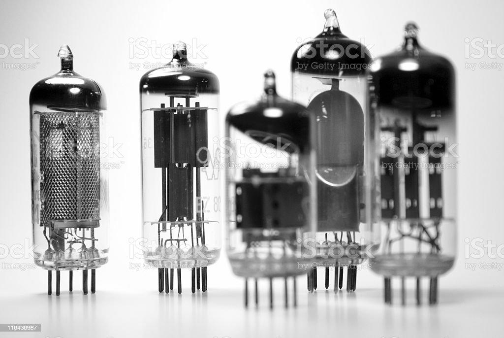 Vacuum tubes royalty-free stock photo