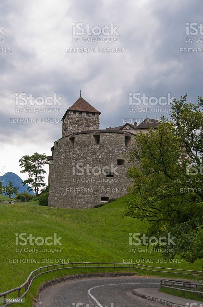 Vaduz Castle in Liechtenstein stock photo
