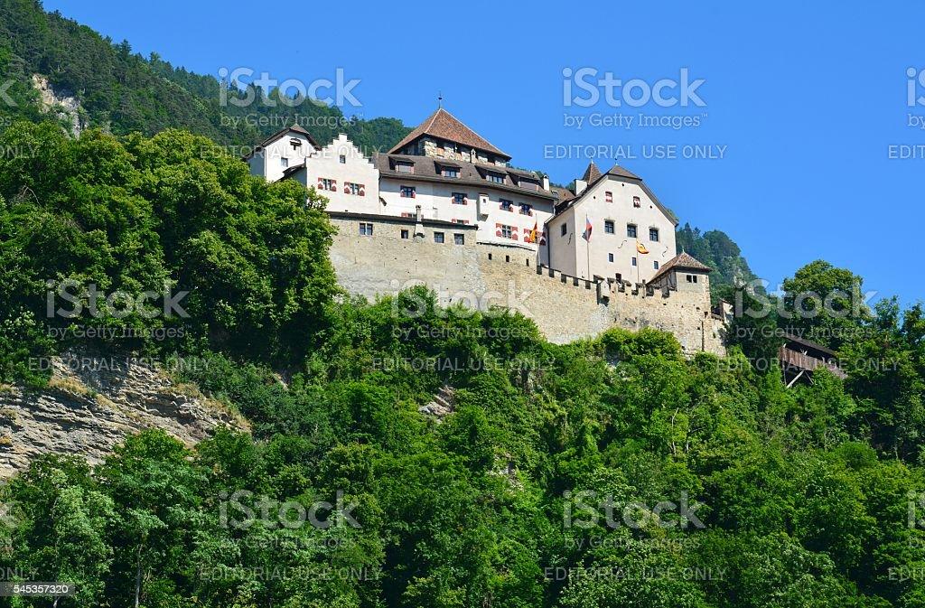 Schloss Vaduz in Liechtenstein. stock photo