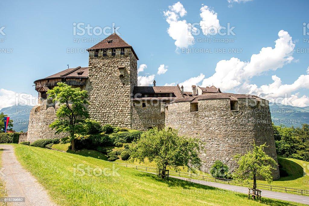 Vaduz castle in Liechtenstein stock photo