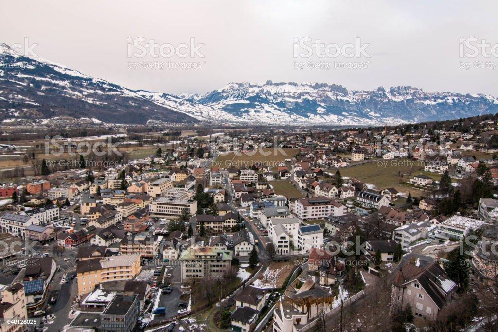 Vaduz, Liechtenstein stock photo