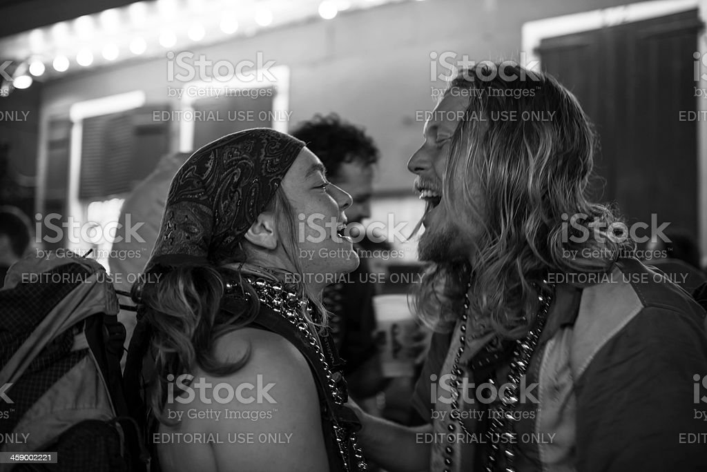 Laughter and Love stock photo
