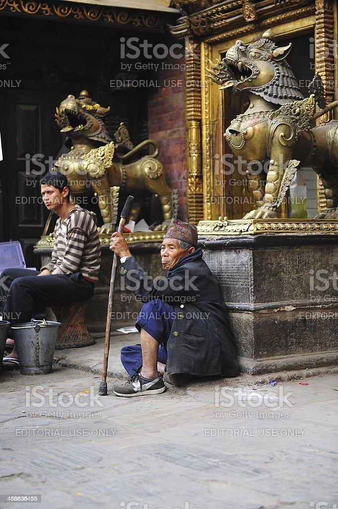 vagrant stock photo