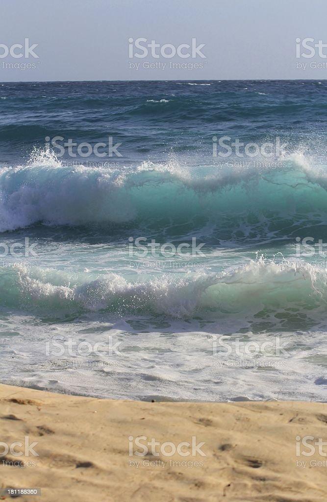 vague, ocean wave, beach, sea royalty-free stock photo