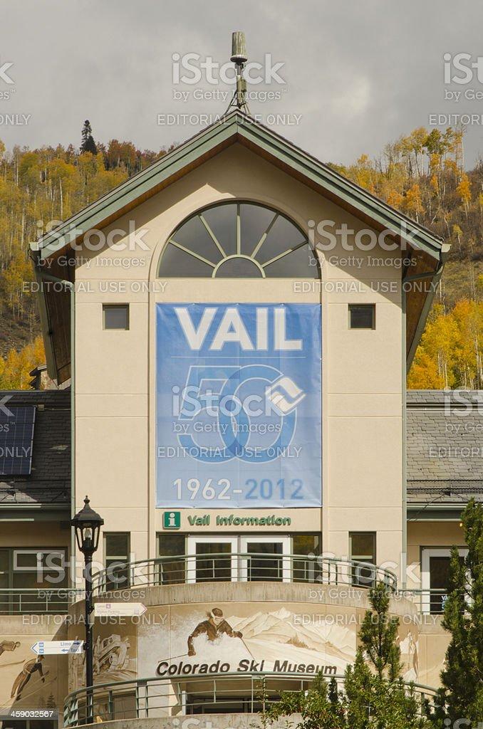 Vail Celebrates Fifty Year Anniversary royalty-free stock photo