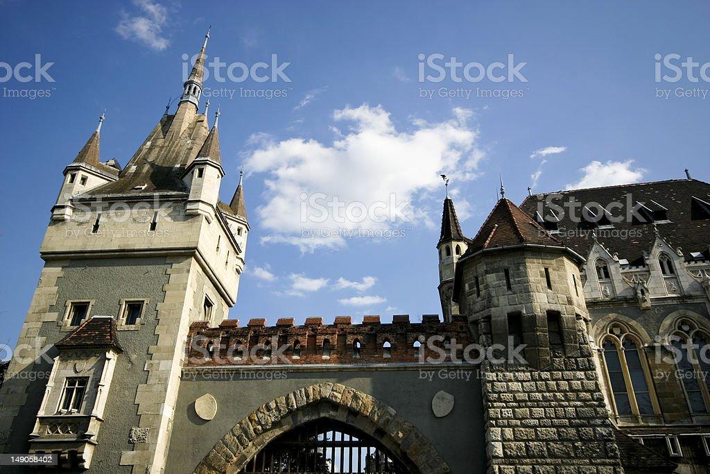 Vajdahunyad Castle, Budapest royalty-free stock photo