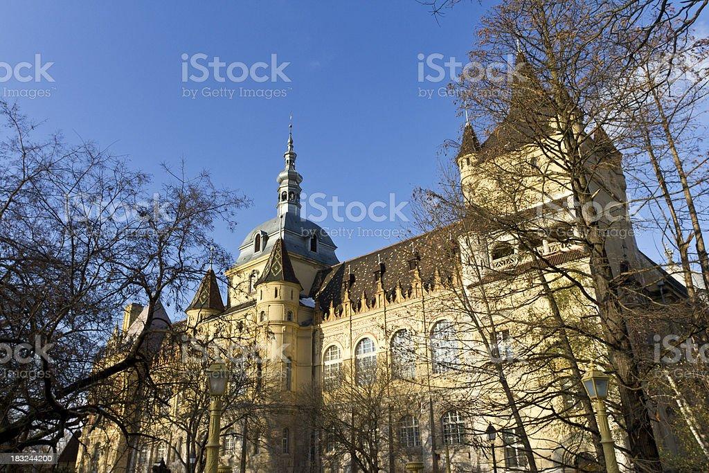 Vajdahunyad Castle in Budapest royalty-free stock photo