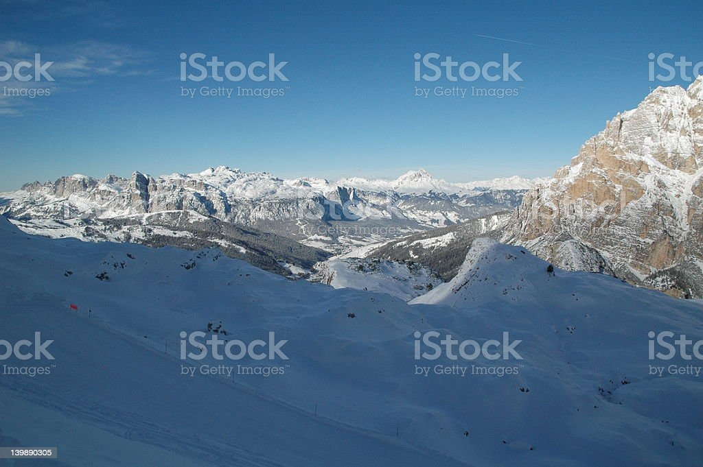 Val Badia stock photo