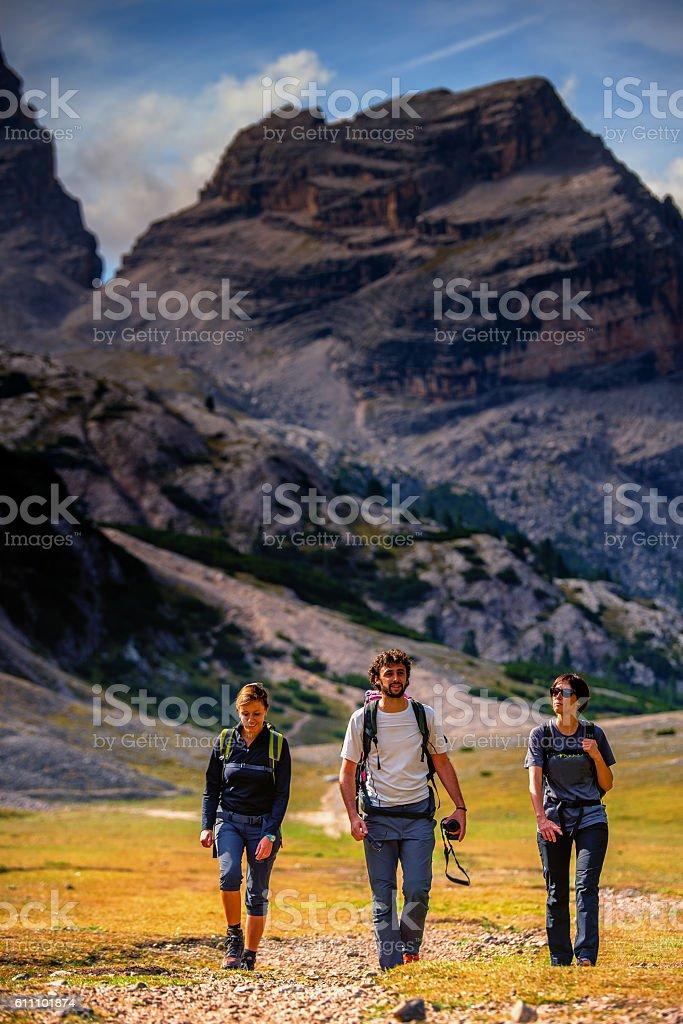 Val di Fanes stock photo