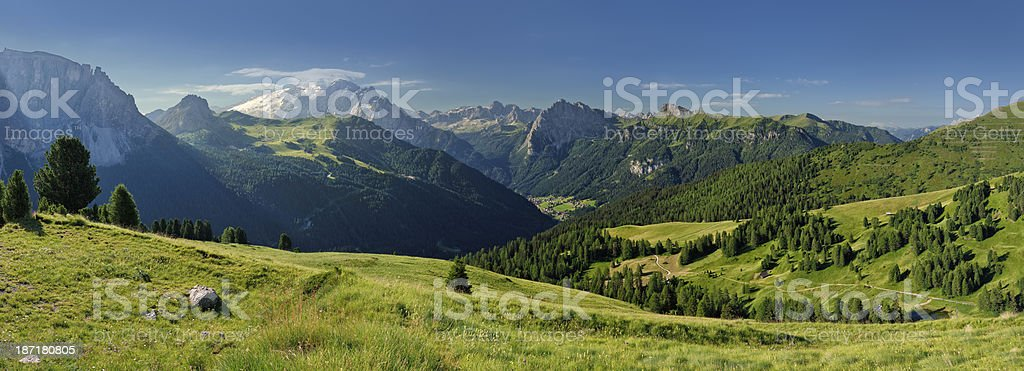 Val di Fassa (Dolomiti) stock photo