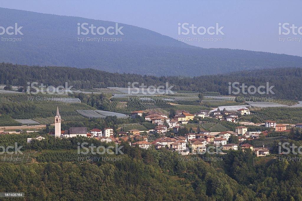 Val di Non, Italy stock photo