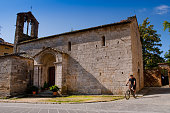 Val d'Orcia, Siena, Tuscany, Italy - Excursion in Mountain Bike