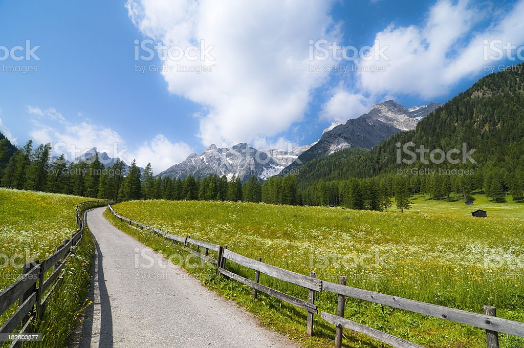 Val Fiscalina - Fischleintal royalty-free stock photo