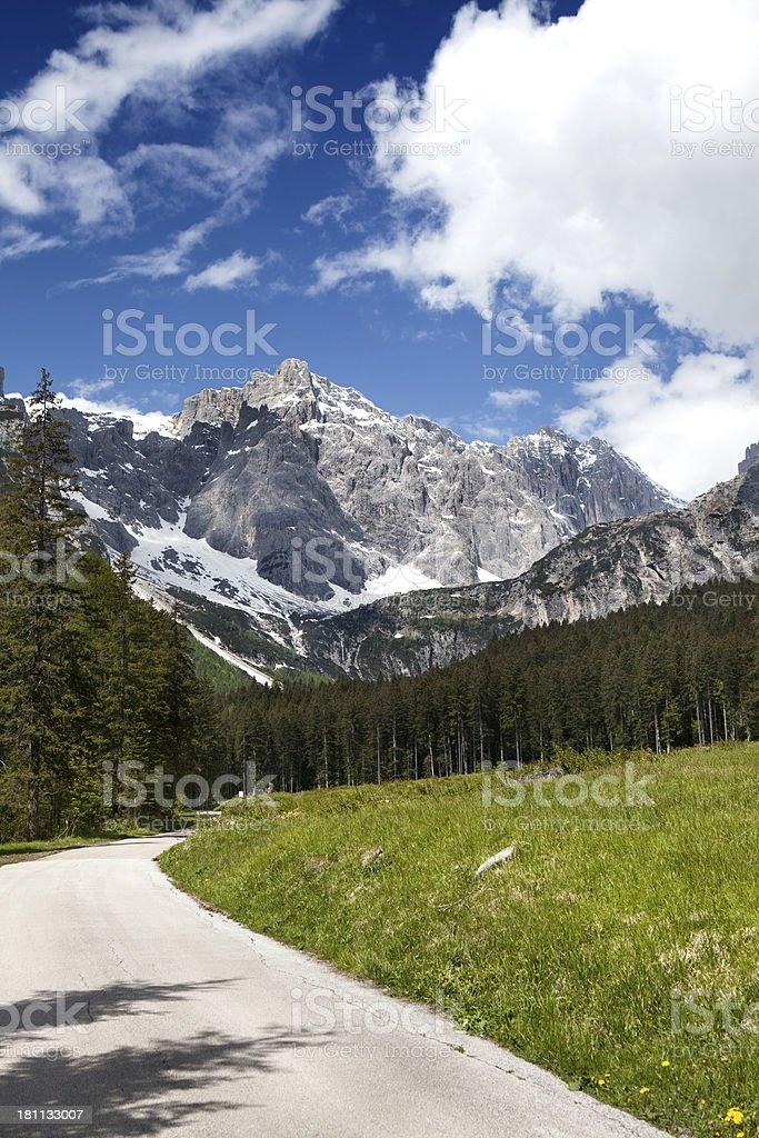 Val Grande, Veneto - Dolomites royalty-free stock photo