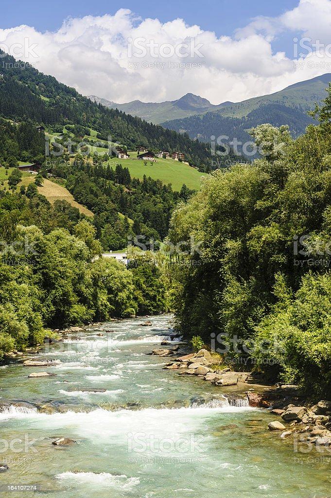 Val Passiria stock photo