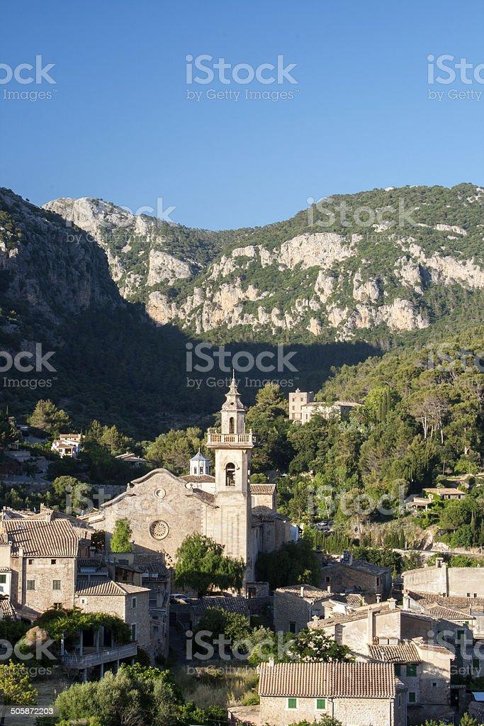 Valdemossa, Mallorca Spain stock photo