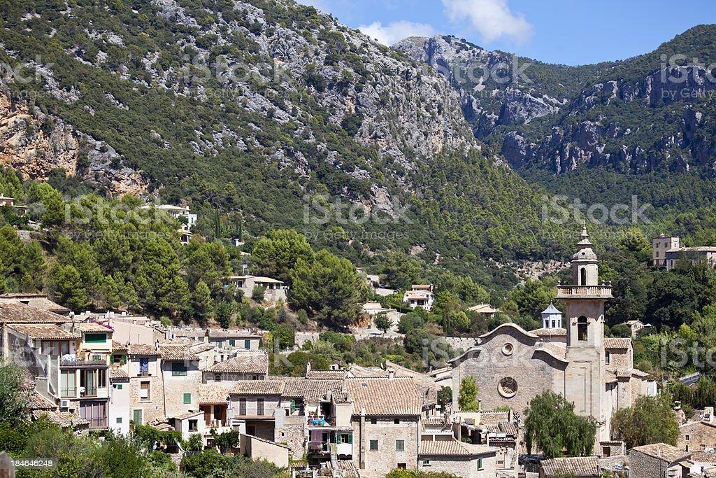 Valdemossa Monastery Majorca stock photo