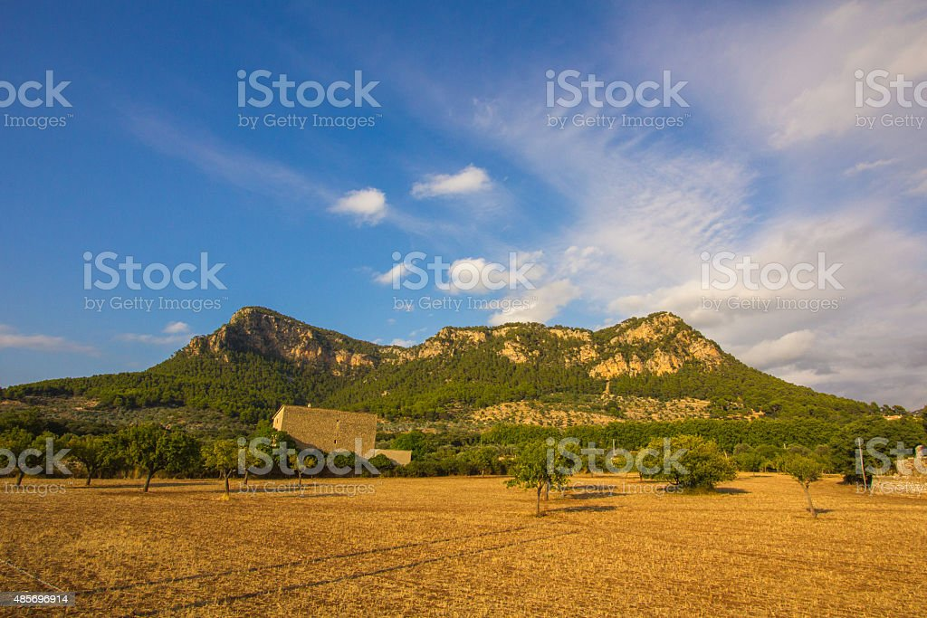 Valdemossa old town Majorca Palma de Mallorca stock photo