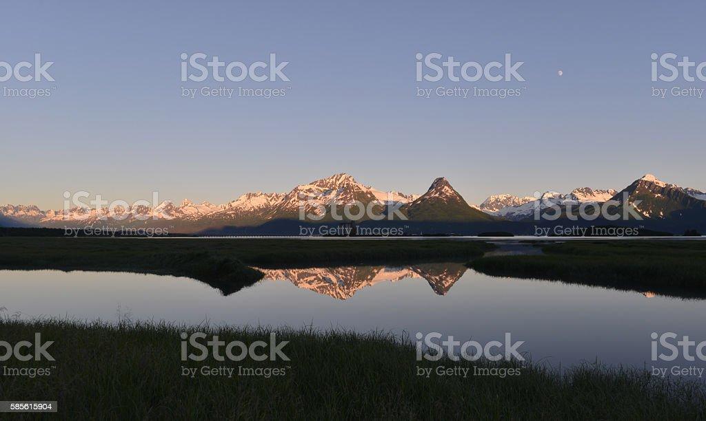 Valdez, Alaska stock photo