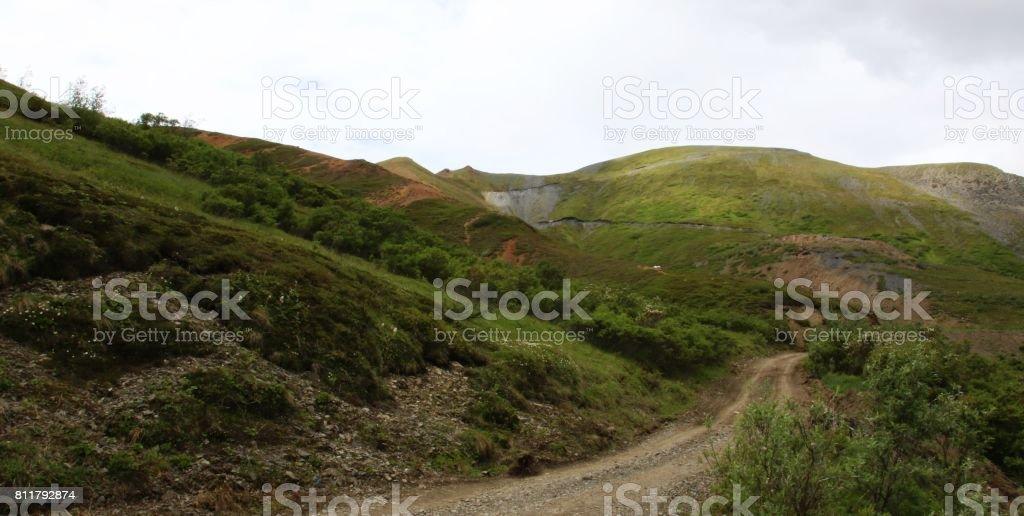 Valdez Creek Trail stock photo