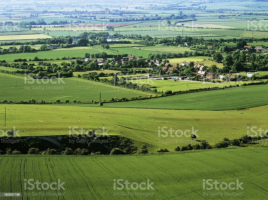 vale of aylesbury stock photo