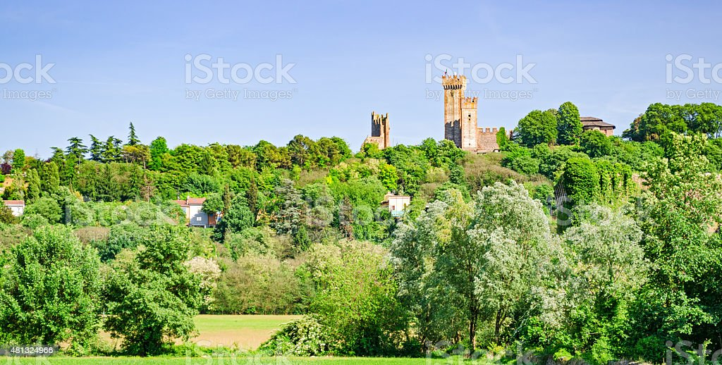 Valeggio sul Mincio, Lombardia, Italy stock photo