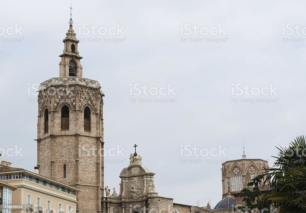 Valencia Cathedral royalty-free stock photo
