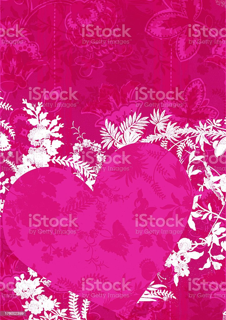 valentine background foliage royalty-free stock photo