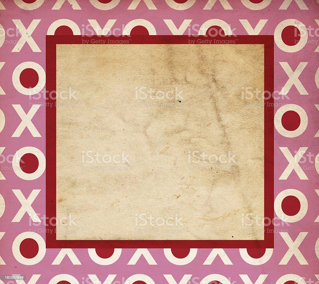 Valentine Background Paper XXXL royalty-free stock photo