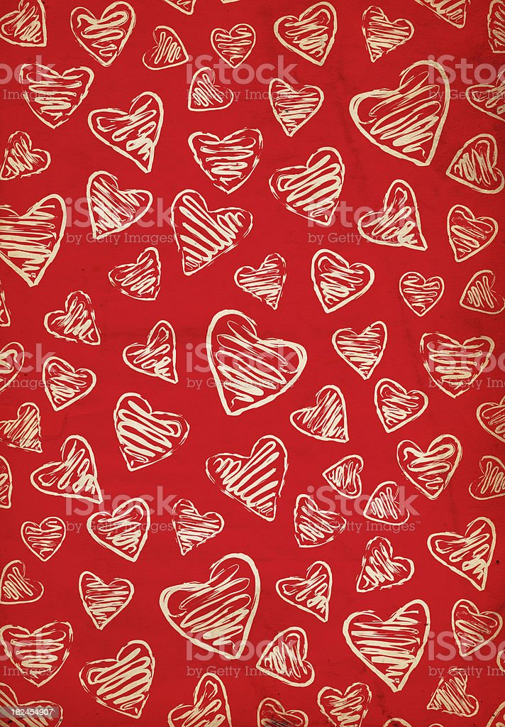 Valentine Background Paper - XXXL royalty-free stock photo