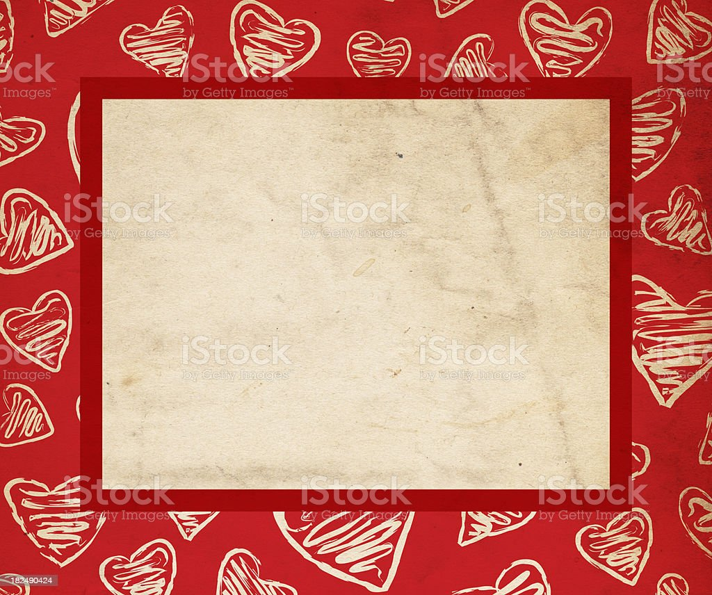 Valentine Background Paper - XXXL stock photo