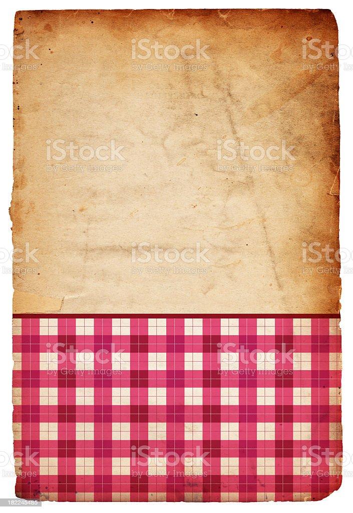 Valentine Background; XXXL Plaid royalty-free stock photo
